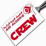 Air Algerie Crew Tag